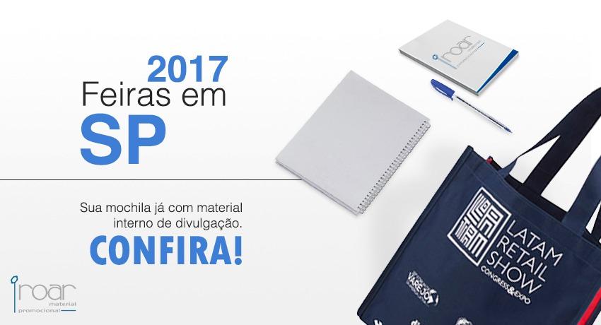 Feiras em São Paulo conheça algumas das principais de 2017 e saiba como oferecer um bom brinde